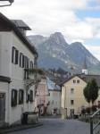 Bad Aussee mit Bergpanorama