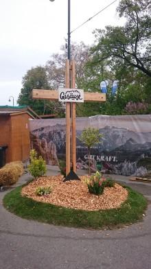 Gipfelkreuz des Gesäuse am Gesäusestand