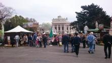 Blick auf das Wiener Burgtheater