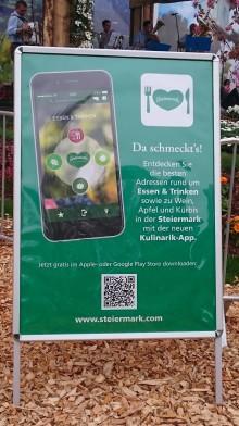 Ankündigung Kulinarik-App