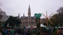 Das Steiermarkdorf vorm Wiener Rathaus
