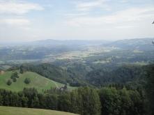 Aussicht Ausstieg Altenbachklamm