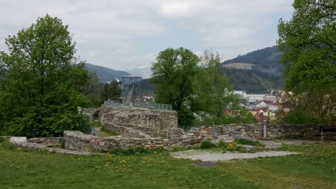 Überreste der Massenburg