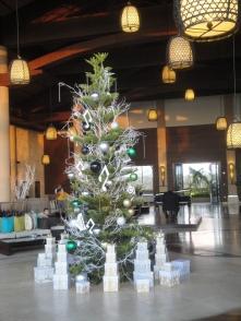 Christbaum im Hotel auf Mauritius