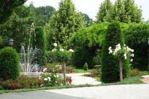 Garten beim Weinschloss