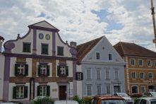 Häuser am Hauptplatz Pöllau