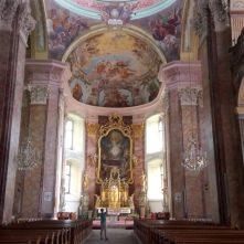Kirche Pöllau Innenansicht